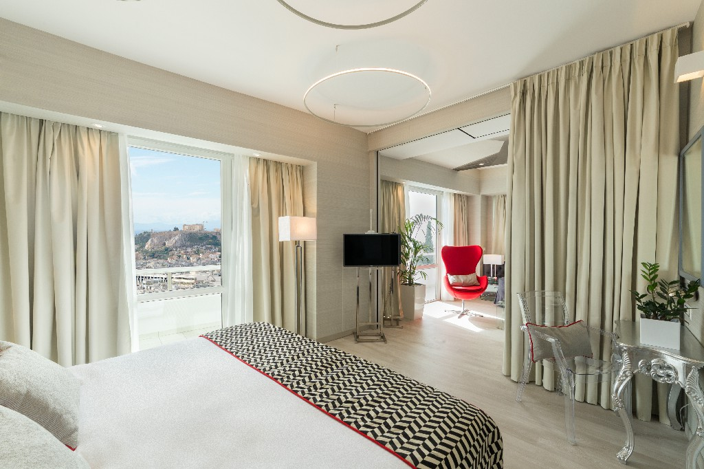 Acropolis view suite